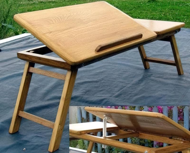 Ідеї для створення підставок і столиків під ноутбук своїми руками 1