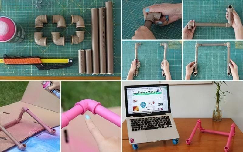 Ідеї для створення підставок і столиків під ноутбук своїми руками 12