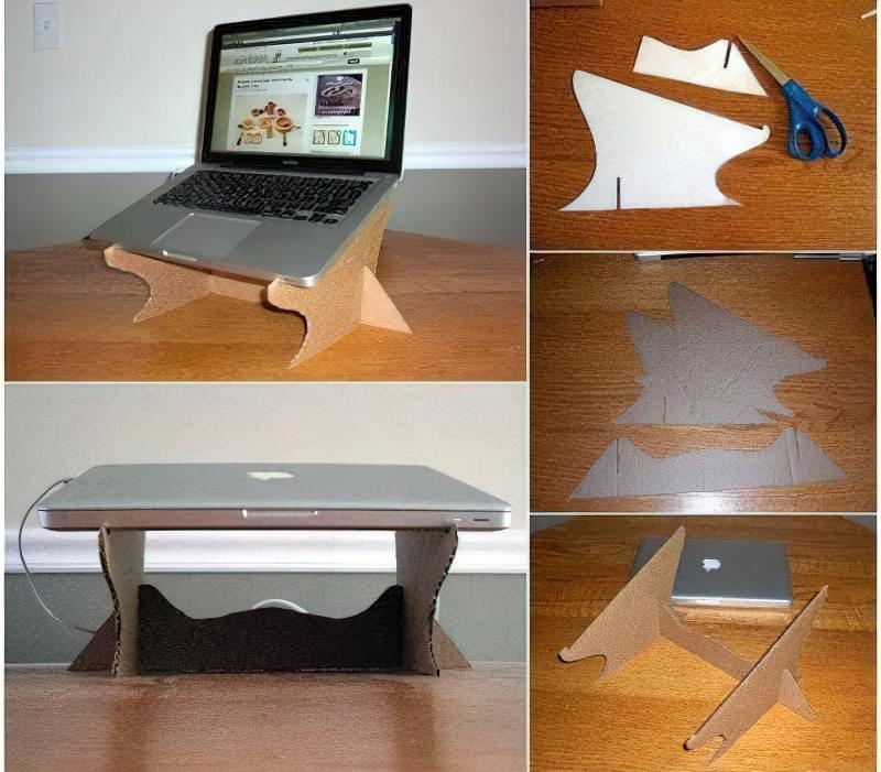 Ідеї для створення підставок і столиків під ноутбук своїми руками 14