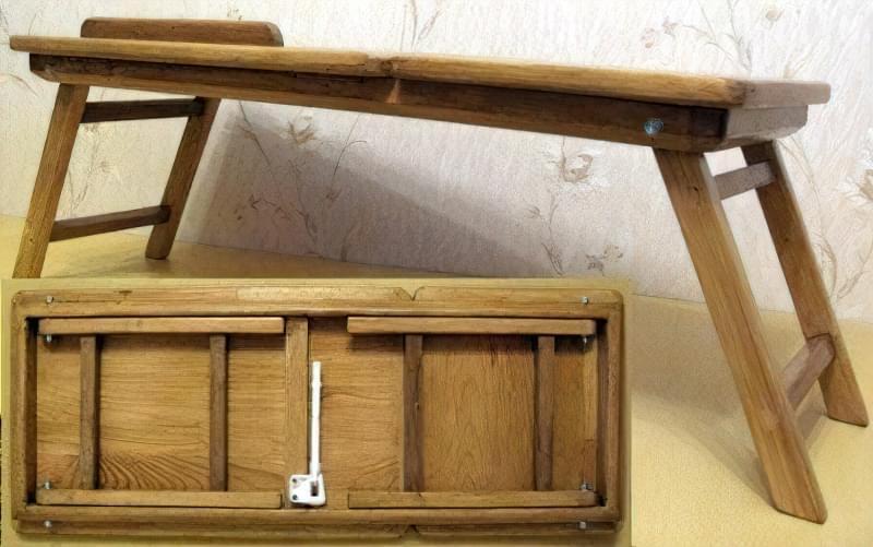 Ідеї для створення підставок і столиків під ноутбук своїми руками 2