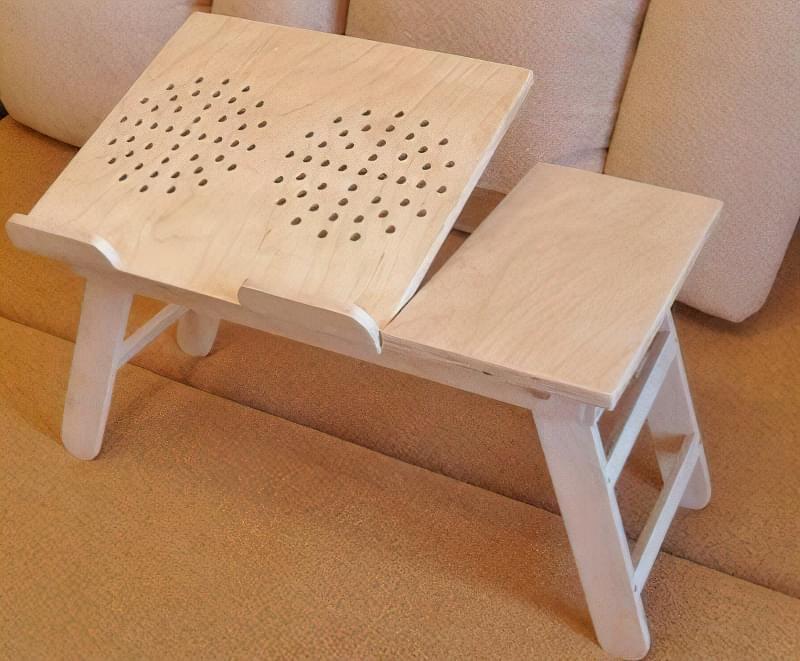 Ідеї для створення підставок і столиків під ноутбук своїми руками 4