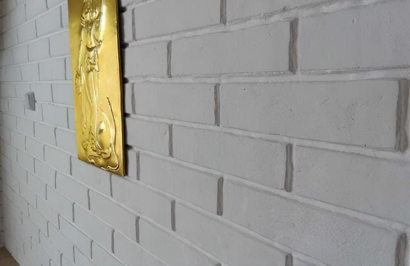 Імітація цегли штукатуркою: обробляємо стіни під цеглу своїми руками 2