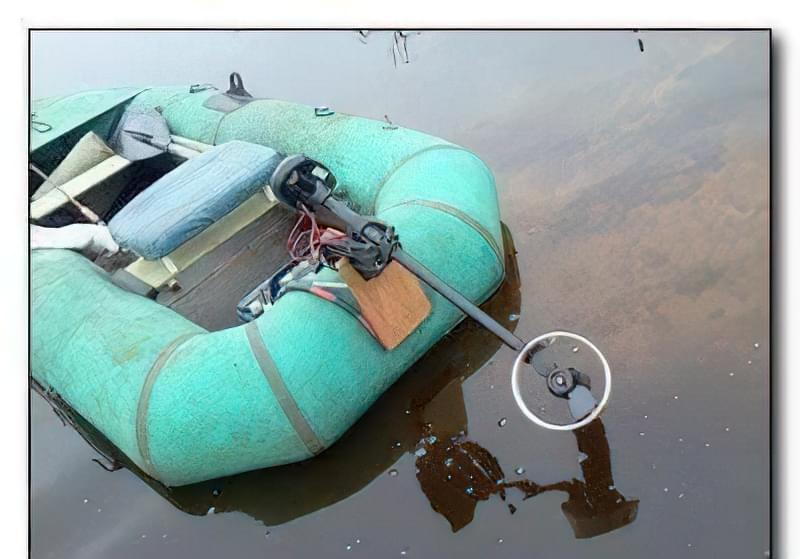 Підвісний електромотор для човна своїми руками 24
