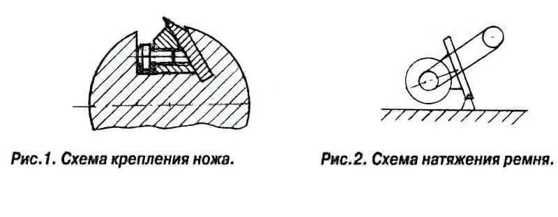 Простий деревообробний верстат 2