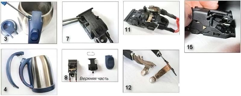 Ремонт електрочайника: покроковіінструкції 3