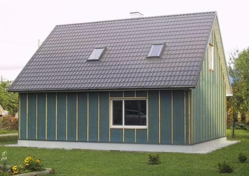 Ізоплат — вітрозахисні та теплозвукоізоляційні плити для обшивки будинку 6