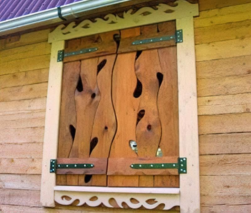 Віконниці: види та виготовлення своїми руками 6