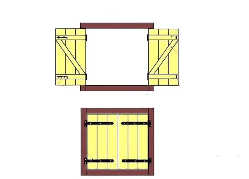 Віконниці: види та виготовлення своїми руками 9