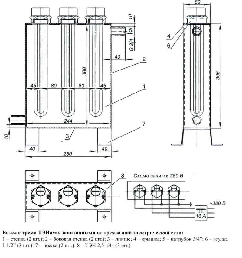 Водяний електрокотел