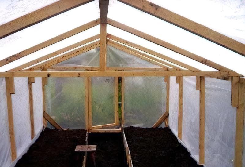 Как сделать крышу в теплице