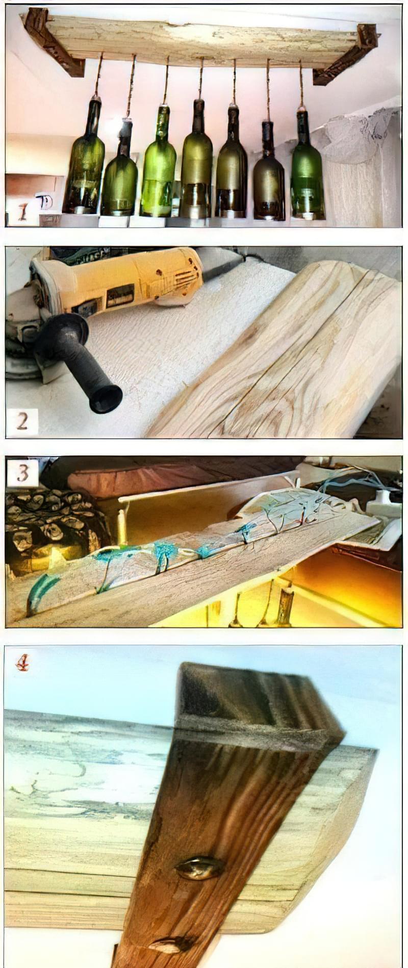 Як зробити люстру для бару