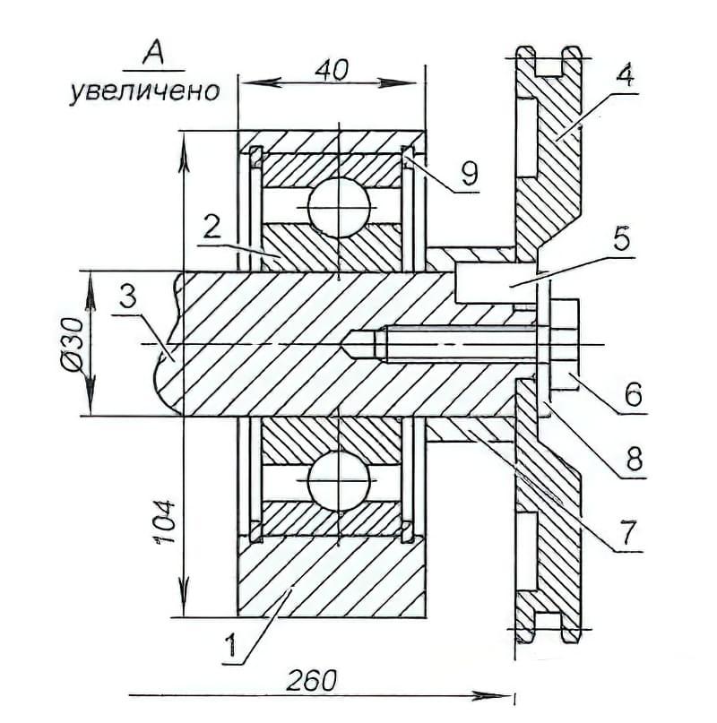 трубогиб електричний схема