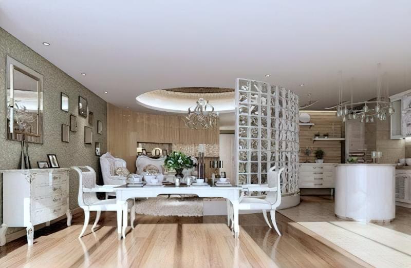 Інтер'єр і планування кухні-вітальні в приватному будинку: популярні дизайнерські рішення 17