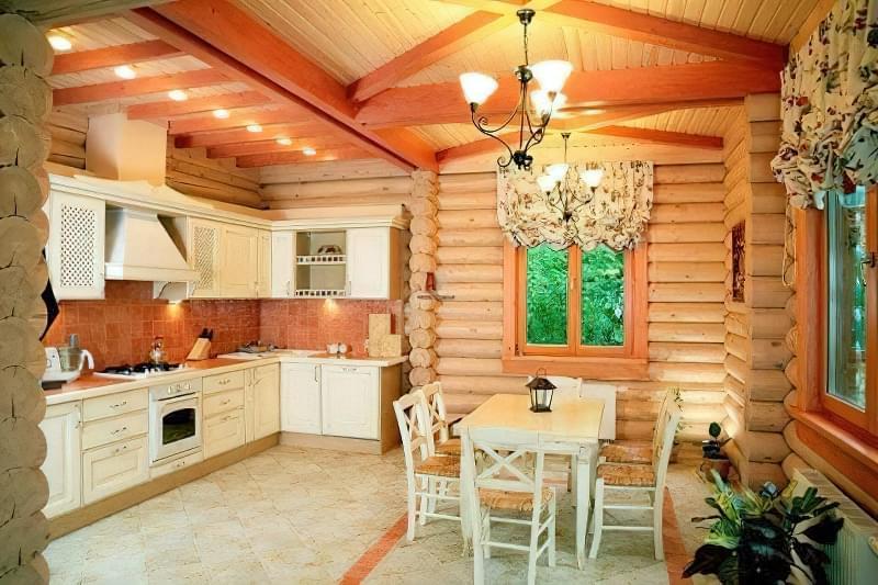 Інтер'єр і планування кухні-вітальні в приватному будинку: популярні дизайнерські рішення 22