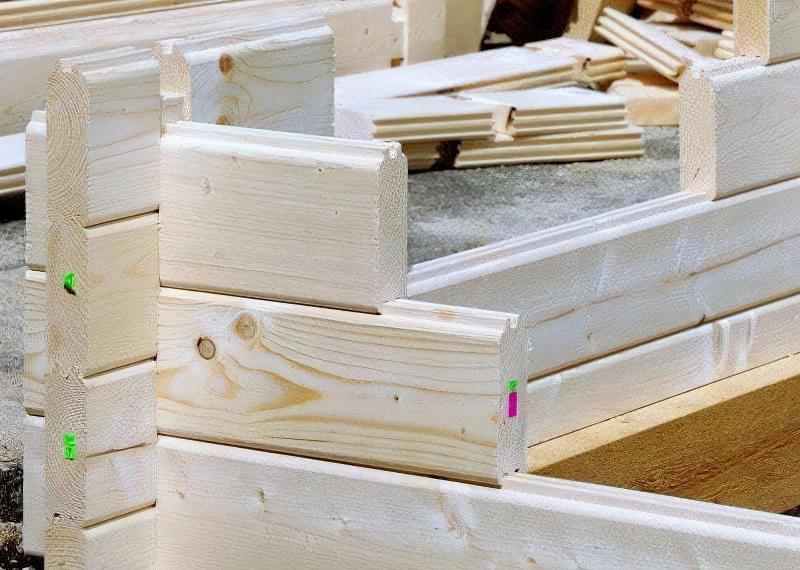 Мінібрус - матеріал для будівництва садових будиночків, бань та альтанок 2