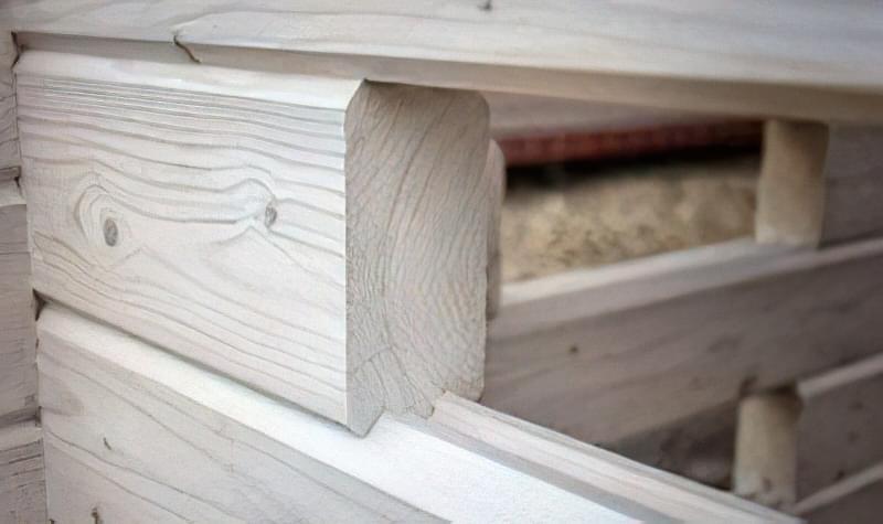 Мінібрус - матеріал для будівництва садових будиночків, бань та альтанок 55