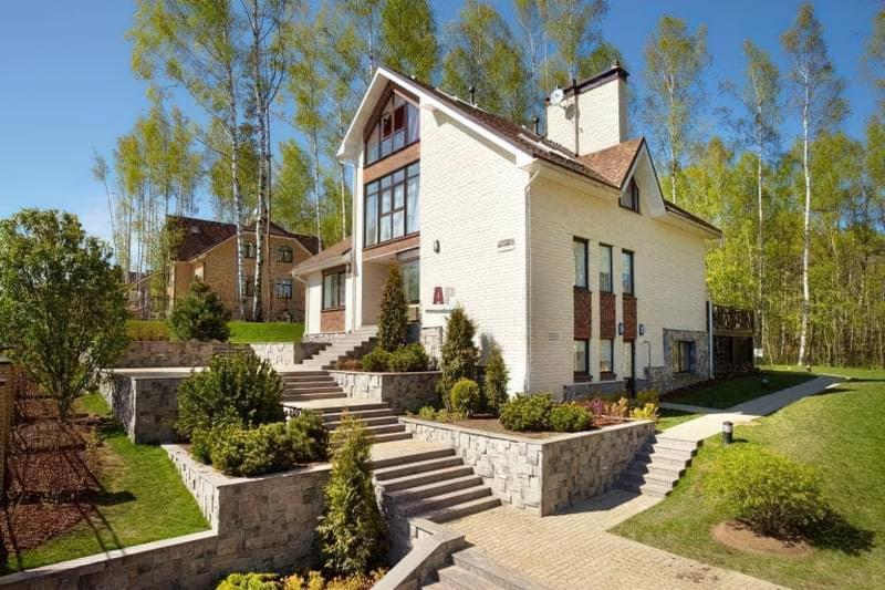 Сучасні фасади будинків