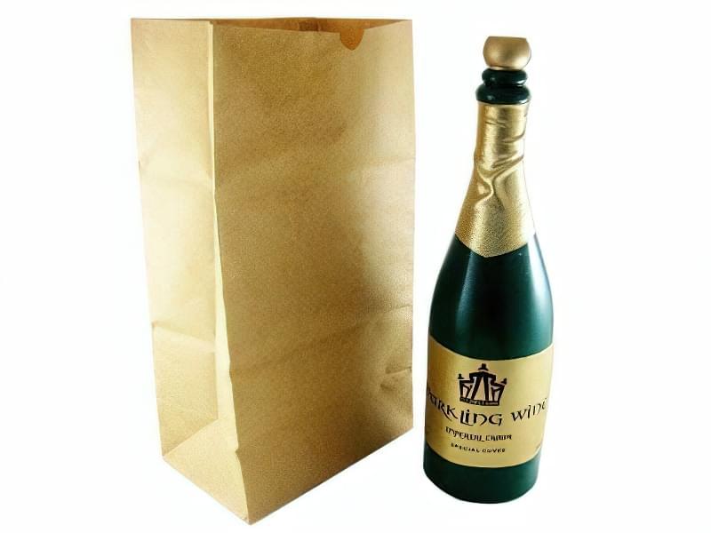 Пляшка шампанського для колки ядер