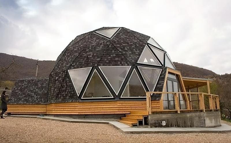 Купольні будинки: приклади та огляд технологій будівництва 1