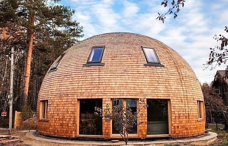 Купольні будинки: приклади та огляд технологій будівництва 6