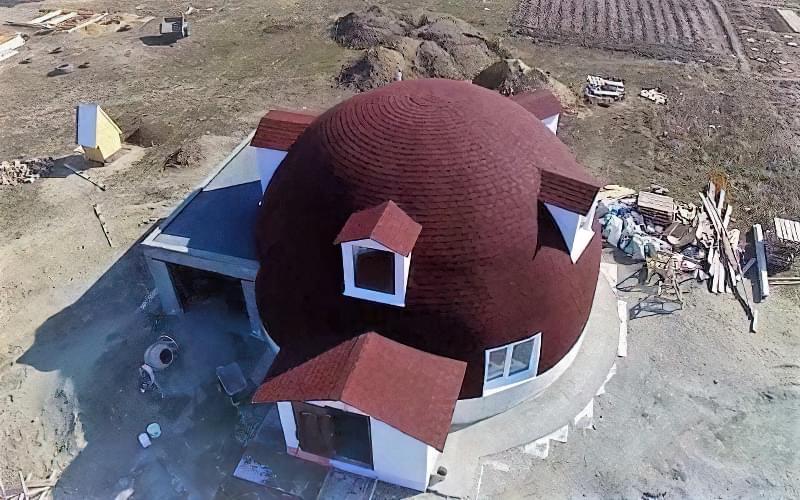 Купольні будинки: приклади та огляд технологій будівництва 7