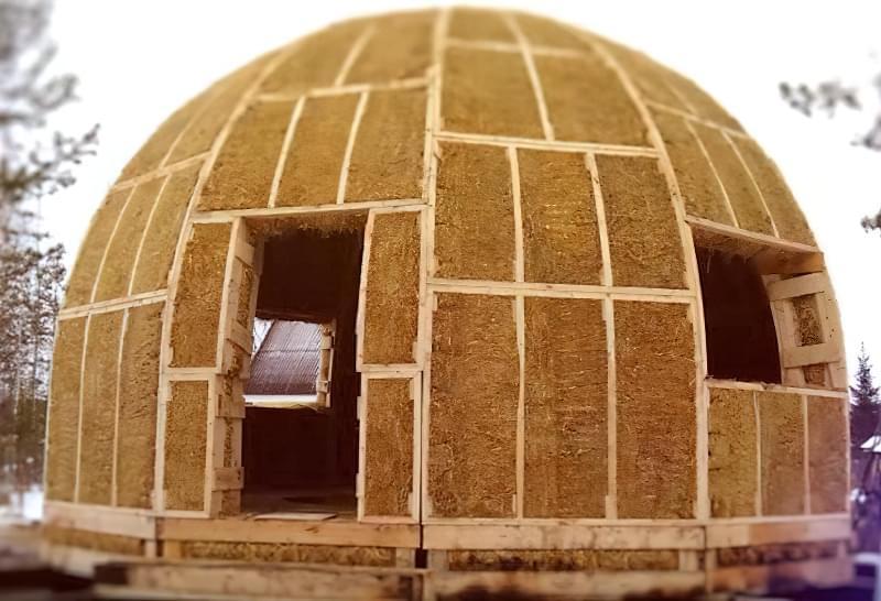 Купольні будинки: приклади та огляд технологій будівництва 8
