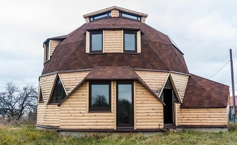 Купольні будинки: приклади та огляд технологій будівництва 9