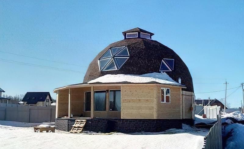 Купольні будинки: приклади та огляд технологій будівництва 12