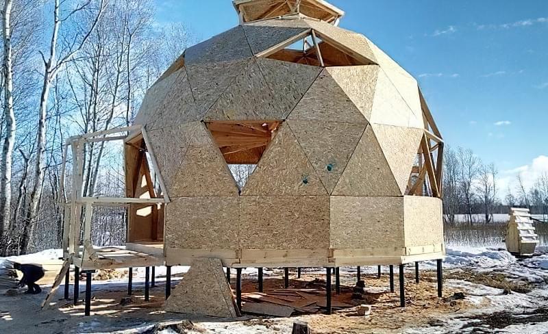 Купольні будинки: приклади та огляд технологій будівництва 13