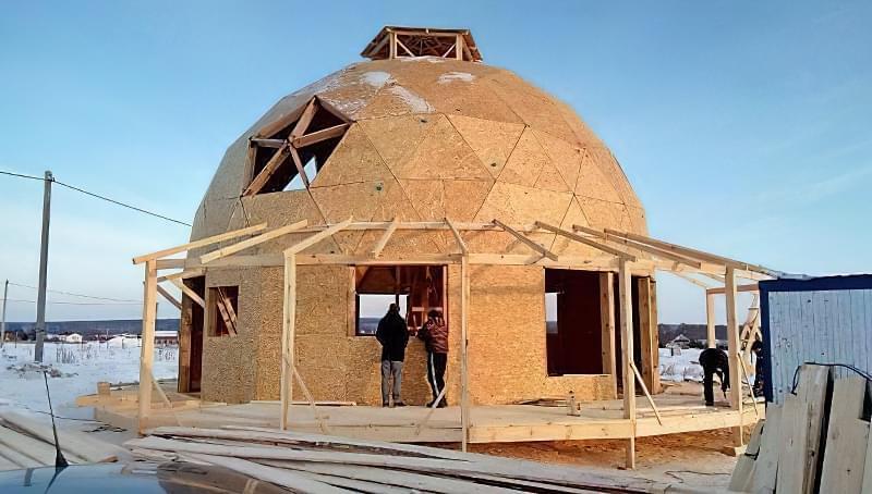 Купольні будинки: приклади та огляд технологій будівництва 14