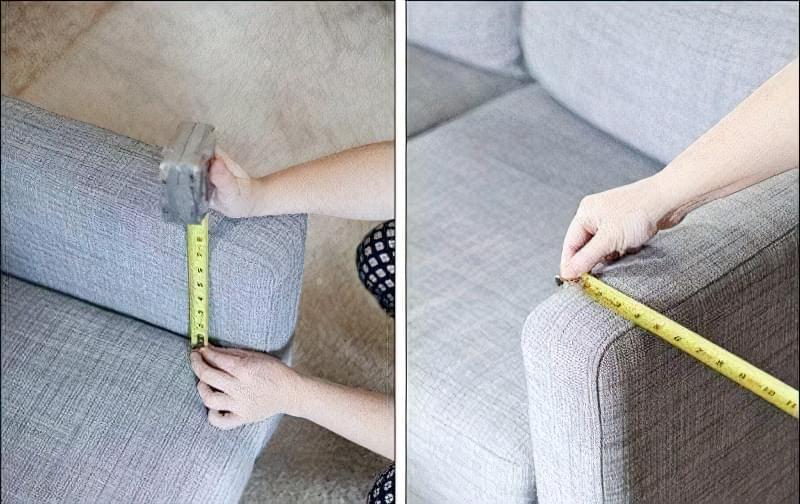стіл на підлокітник дивана