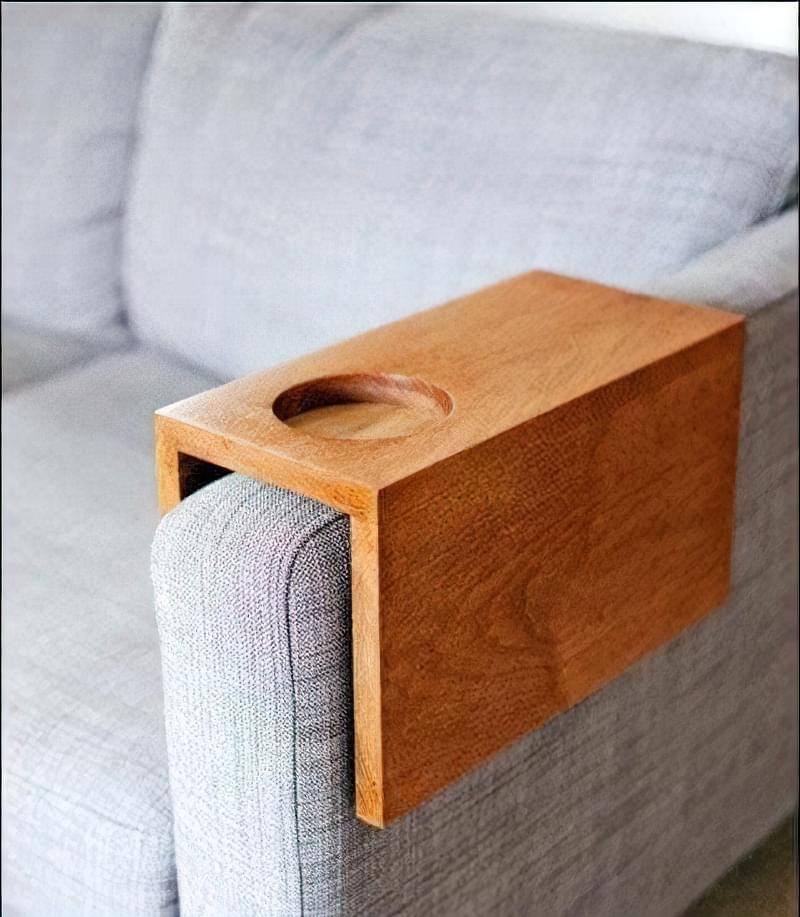 Міні стіл на підлокітник дивана 1