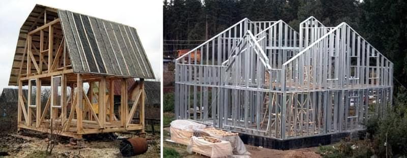 Как быстро построить каркасный дом своими руками 5