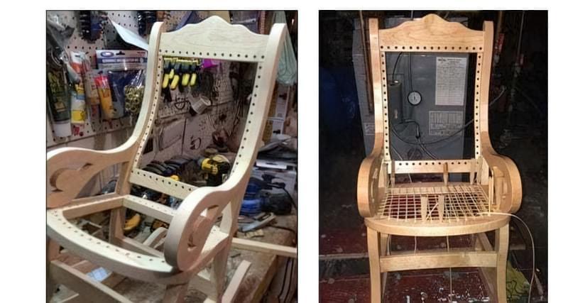 Крісло качалка фото