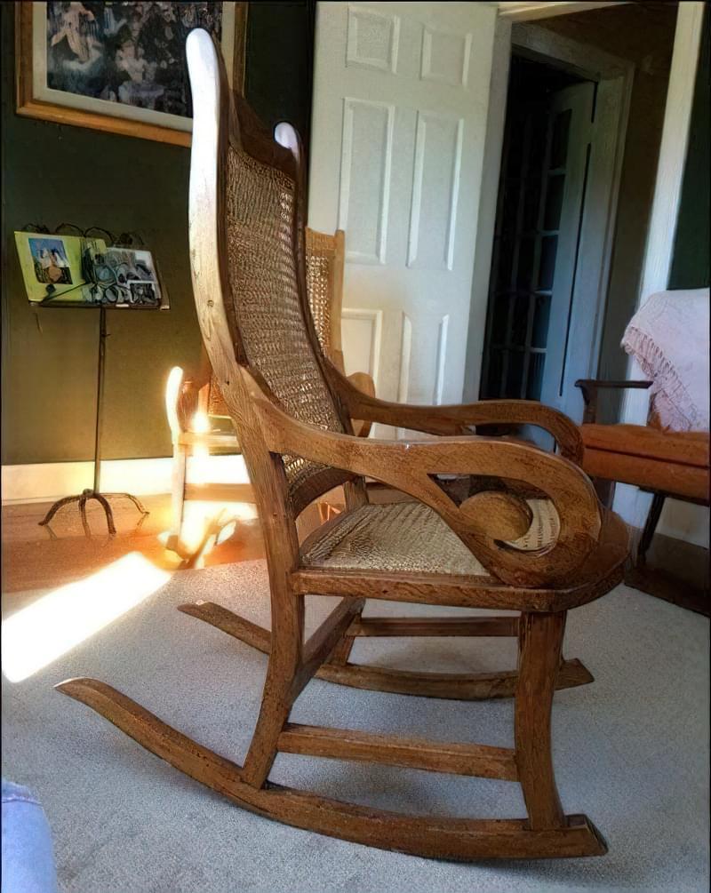 Крісло качалка своїми руками з дерева 1
