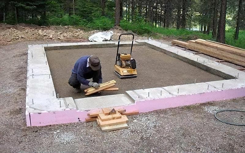 Підлога по грунту в приватному будинку: технологія підготовки і заливки 2