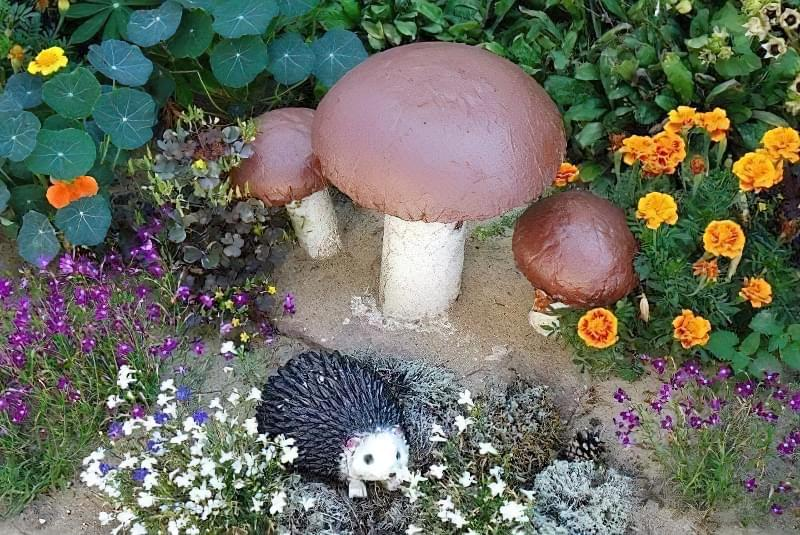Вироби з цементу для саду: більше 20 ідей, інструкції та майстер-класи 2