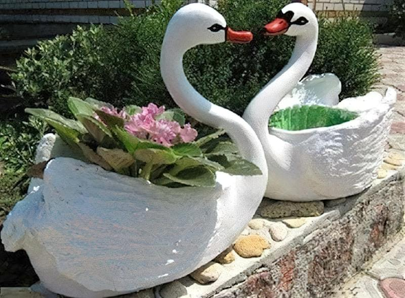 Вироби з цементу для саду: більше 20 ідей, інструкції та майстер-класи 15