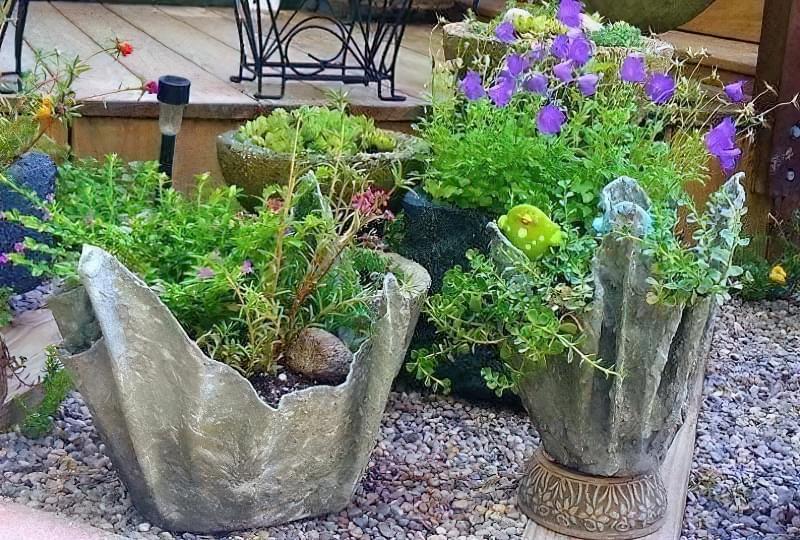 Вироби з цементу для саду: більше 20 ідей, інструкції та майстер-класи 23