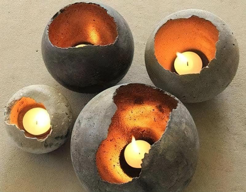 Вироби з цементу для саду: більше 20 ідей, інструкції та майстер-класи 5