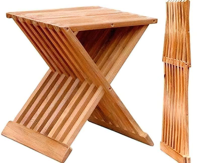 Як зробити табуретку з дерева: ідеї та приклад самостійної збірки 21