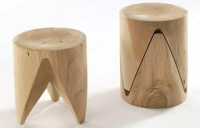 Як зробити табуретку з дерева: ідеї та приклад самостійної збірки 4