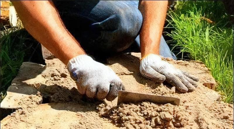 Доріжка із зрубів дерева своїми руками 5