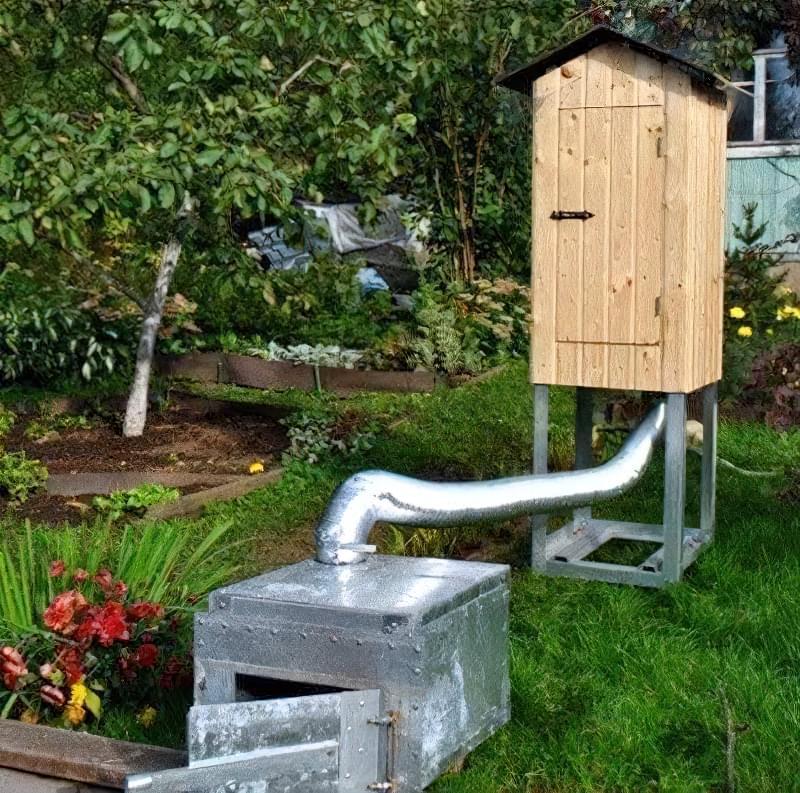 Коптильня холодного копчення в домашніх умовах 4