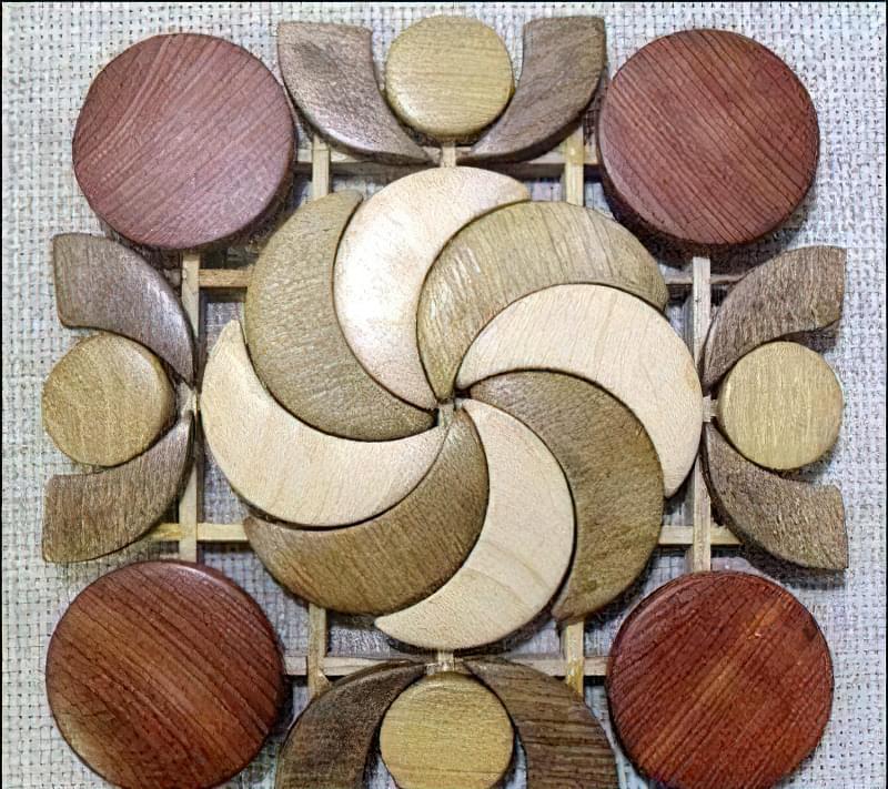 Підставки для чашок з деревини 7