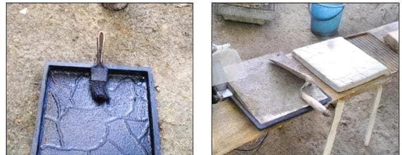 тротуарної плитки в домашніх умовах