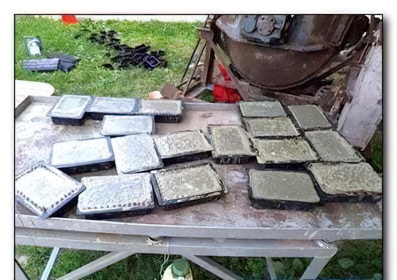 Виготовлення тротуарної плитки в домашніх умовах 8
