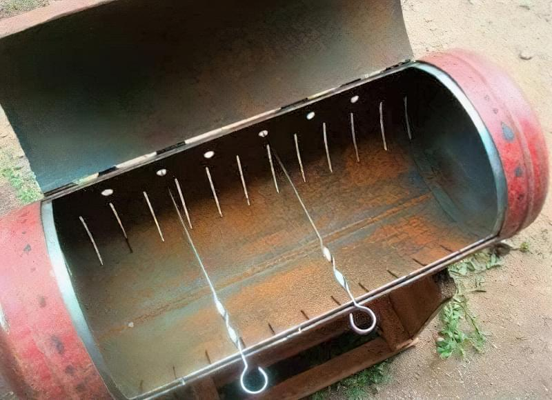 Як виготовити мангал з газового балона: приклади і покрокова інструкція 22