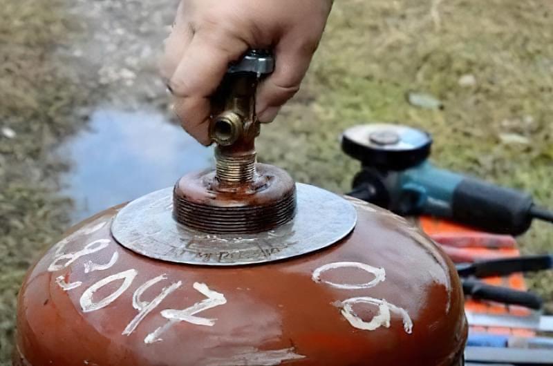 Як виготовити мангал з газового балона: приклади і покрокова інструкція 5