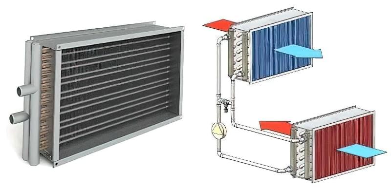 Рекуператори повітря для будинку: типи та варіанти установок 6